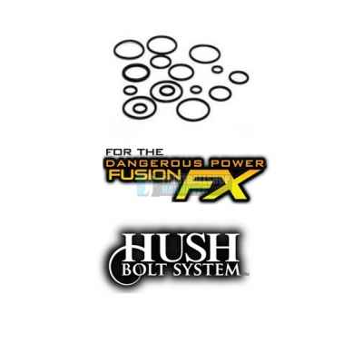 TechT O-Ring Kit for the DP Fusion FX Hush Bolt | Paintball Sports