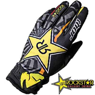 Rockstar Thor Paintball Gloves (black / yellow) | Paintball Sports