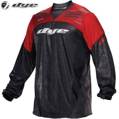 DYE C14 UL Paintball Jersey (red / red, XS / S) | Paintball Sports