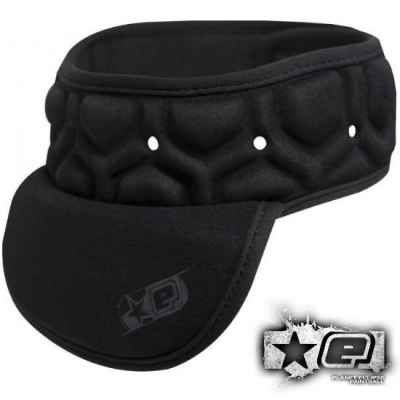 Planet Eclipse Overload Paintball Neckguard (black, L / XL) | Paintball Sports