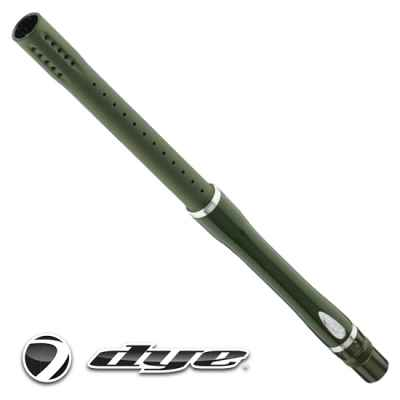 "DYE GlassFiber Boomstick barrel 15 ""(.684) (OLIVE / SILVER) 