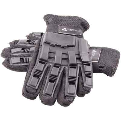 Paintball Full Finger Gloves with Protectors (black) | Paintball Sports