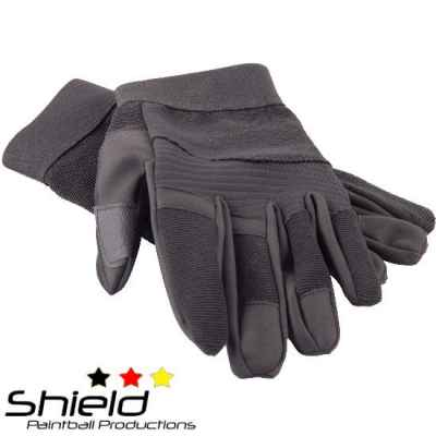 Shield AR Gloves Paintball Gloves (black) | Paintball Sports