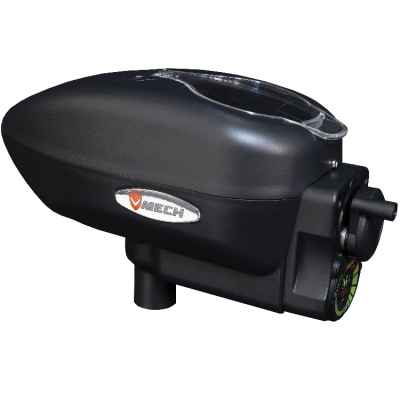 V-Mech M1 Force Feed Paintball Hopper (Black) | Paintball Sports