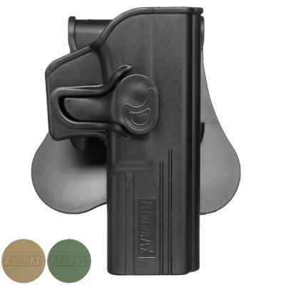 Amomax paddle holster for Glock 17/22/31 models | Paintball Sports