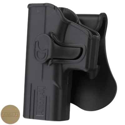 Amomax paddleholster for Glock 19/23/32 models LEFT HAND | Paintball Sports