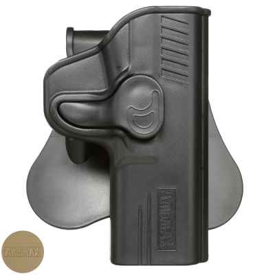 Amomax paddle holster for Smith & Wesson MP9 models | Paintball Sports