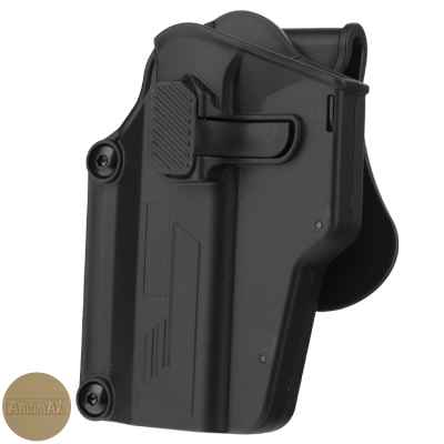 Amomax Per-Fit Paddleholster Multi Fit LEFT HAND   Paintball Sports