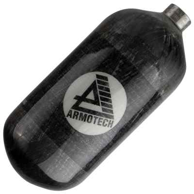 Fuel Supralite 1.1 L Composite HP Bottle (300 Bar) - Gray | Paintball Sports