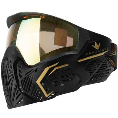 BunkerKings CMD / Command Paintball Mask (Supreme Gold)   Paintball Sports