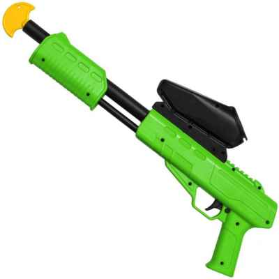 Blaster Kids Paintball Markers / Shotgun Cal. 50 (0.5 J) incl. Loader (Lime) | Paintball Sports