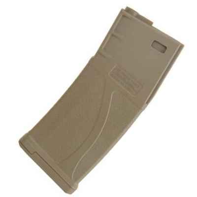 M4 Airsoft 140-shot polymer replacement magazine TAN | Paintball Sports