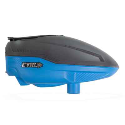 Bunkerkings CTRL Paintball Hopper (Graphite Blue) | Paintball Sports