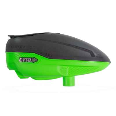 Bunkerkings CTRL Paintball Hopper (Graphite Lime) | Paintball Sports