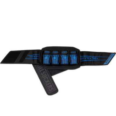 Bunkerkings Fly Pack Paintball Battlepack (4 + 7) - Blue Laces | Paintball Sports