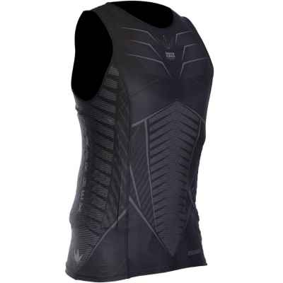 Bunkerkings Fly Sleeveless Compression Top (black) | Paintball Sports