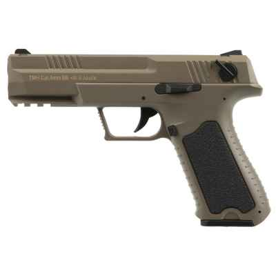 CYMA CM.127 AEP Airsoft Pistol Complete Set (tan)   Paintball Sports