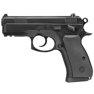 ASG CZ 75D Compact Airsoft Pistol (black) | Paintball Sports