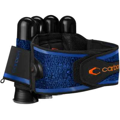 Carbon SC Harness Paintball Battlepack 4 + 5 (blue) | Paintball Sports