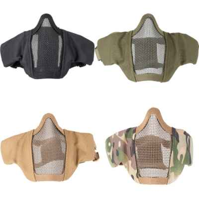 DELTA SIX Airsoft HalfFace Mesh Mask 2.0 mesh mask (various colors)   Paintball Sports