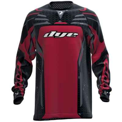 DYE LT Paintball Jersey / Jersey (Red) | Paintball Sports