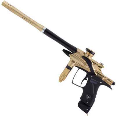 Dangerous Power Fusion Elite paintball marker (gold / black) | Paintball Sports