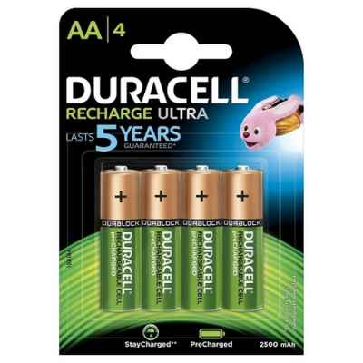 Duracell Supreme 1.2 Volt Paintball Battery with 2450 mAh (4 Pack) | Paintball Sports
