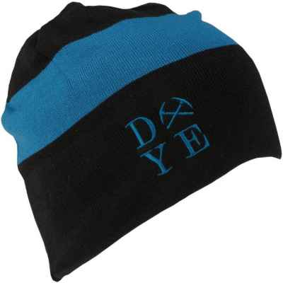 DYE 3am Beanie Paintball Beanie (black / blue) | Paintball Sports
