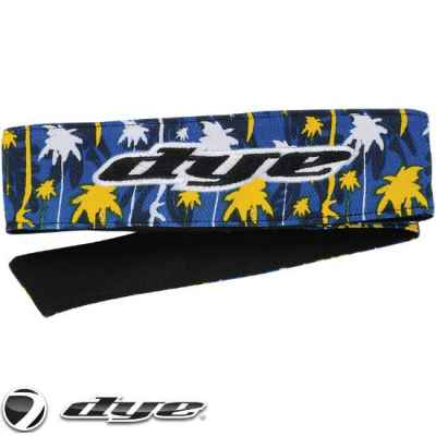 DYE C14 Paintball Head Band / Head Tie (Cali Gold) | Paintball Sports