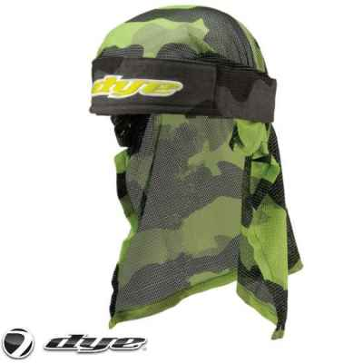 Dye Paintball Headwrap (Bomber Gray / Lime) | Paintball Sports