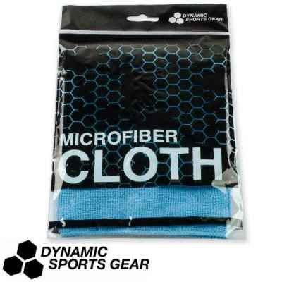 DSG Paintball microfibre cloth / mask cloth 30x30cm light blue | Paintball Sports