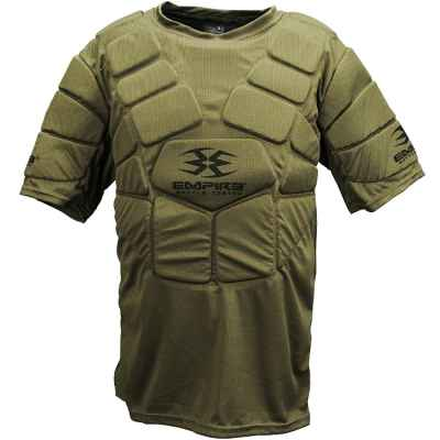 BT Bulletproof Chest Protecor / Paintball Breastplate (olive) | Paintball Sports