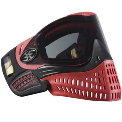 Empire E-Flex Paintball Mask Ltd Edition (black / red) | Paintball Sports
