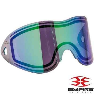 Empire Vents / E-Flex Paintball Thermal Masking Glass (Green Mirror) | Paintball Sports