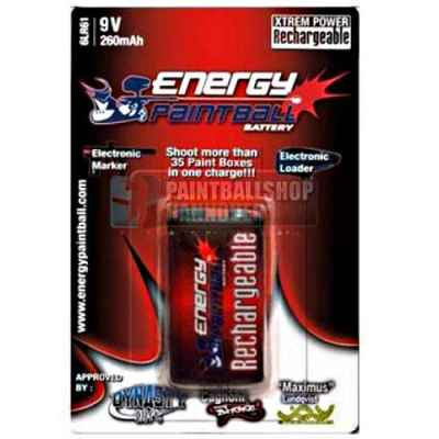 Energy Paintball Battery 9 Volt Block | Paintball Sports