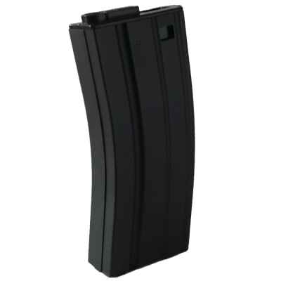 Replacement magazine for Heckler & Koch HK416 D CQB AEG Airsoft assault rifle (black) | Paintball Sports