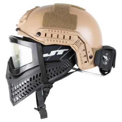ExFog Antifog System universal mask fan for tactical helmets olive   Paintball Sports