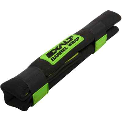 Exalt Barrel Wrap Universal Paintball Running Bag (Black / Green) | Paintball Sports