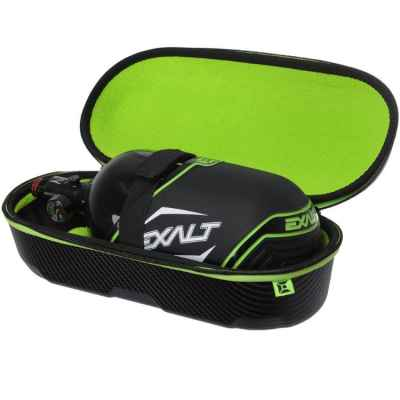 Exalt Carbon Series Bottle Case / Tank Case for HP Systems (Black) | Paintball Sports
