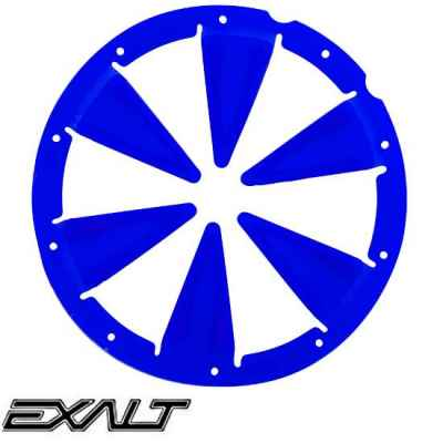 Exalt DYE Rotor / LT-R Hopper Feedgate (blue) | Paintball Sports