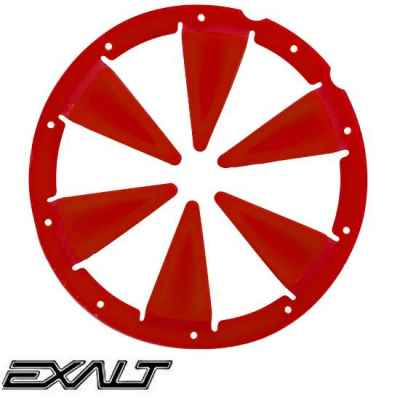 Exalt DYE Rotor / LT-R Paintball Hopper Feedgate (red) | Paintball Sports