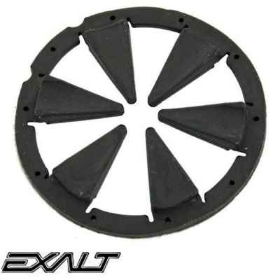 Exalt DYE Rotor / LT-R Paintball Hopper Feedgate (Black) | Paintball Sports