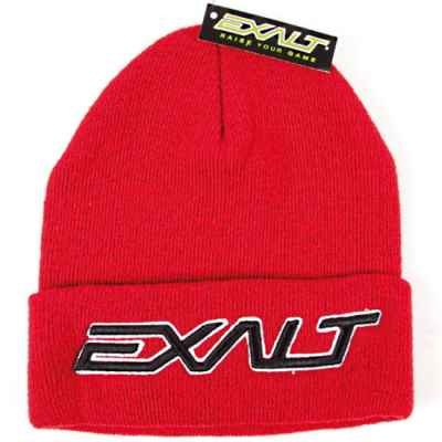 Exalt Paintball Bold Beanie Beanie (red) | Paintball Sports