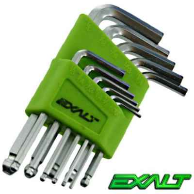 Exalt Paintball Hex Wrench Set (11-Piece, Inch) | Paintball Sports