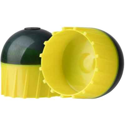 Tiberius Arms First Strike Paintballs in a tube of 10 (dark gray / yellow) | Paintball Sports