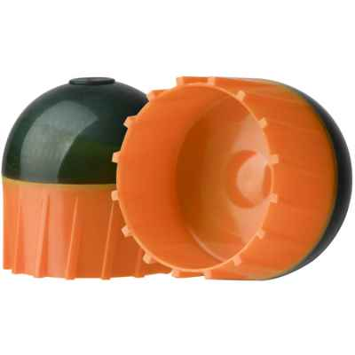 Tiberius Arms First Strike Paintballs in a tube of 10 (dark gray / orange) | Paintball Sports