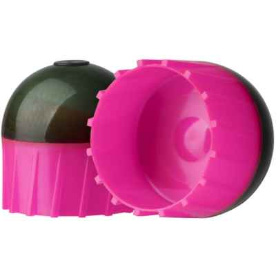 Tiberius Arms First Strike Paintballs in a tube of 10 (dark gray / pink) | Paintball Sports