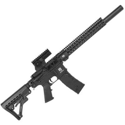 Tiberius Arms First Strike T15 DMR Paintball Sniper Rifle (Black) | Paintball Sports