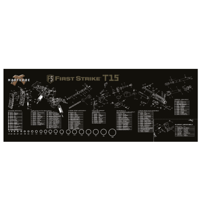 First Strike / Tiberius T15 Tech Mat | Paintball Sports
