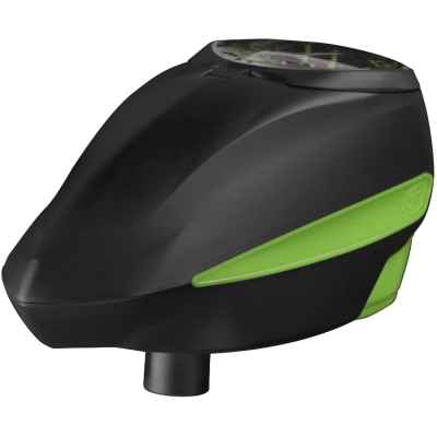 GI Sportz LVL / Level Paintball E-Loader (black / green) | Paintball Sports